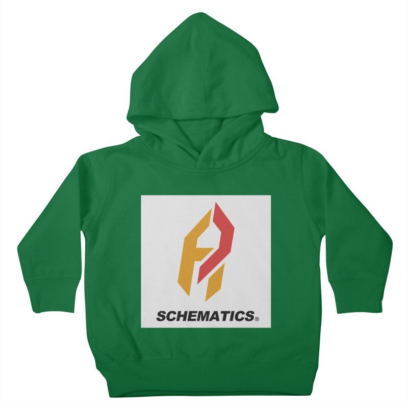 Schematicai Logo. Kids Toddler Pullover Hoody by Shadeprint's Artist Shop