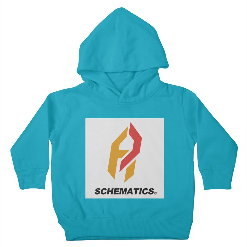 Schematicai Logo. Kids Toddler Pullover Hoody by Shadeprint's Artist Shop