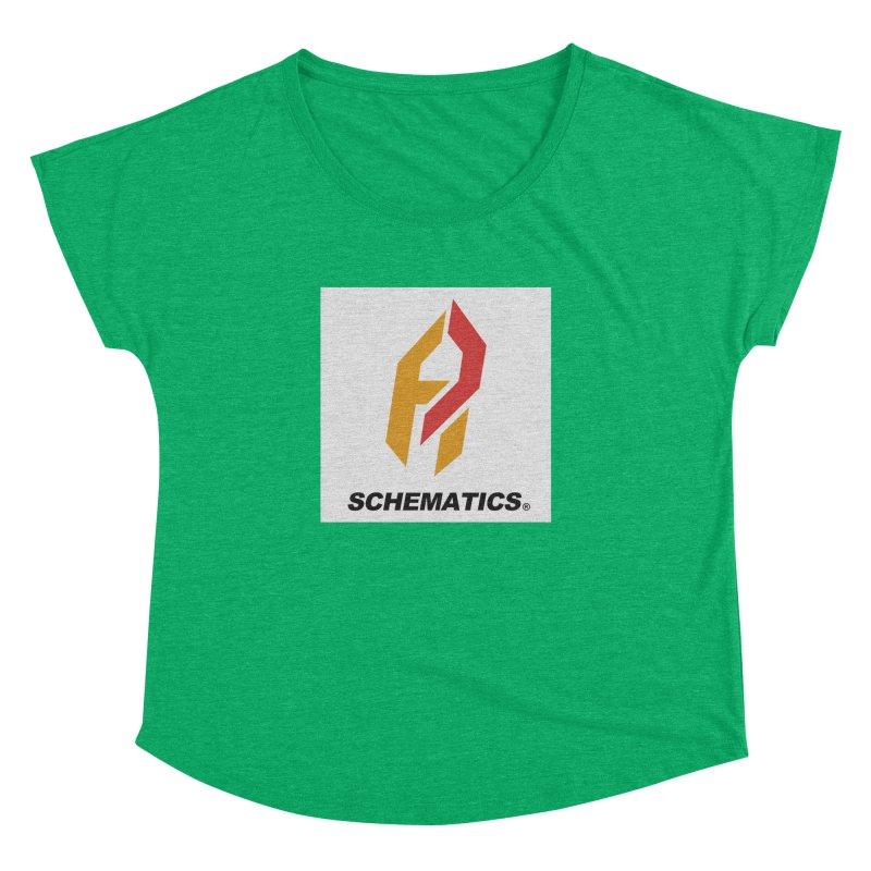 Schematicai Logo. Women's Dolman by Shadeprint's Artist Shop