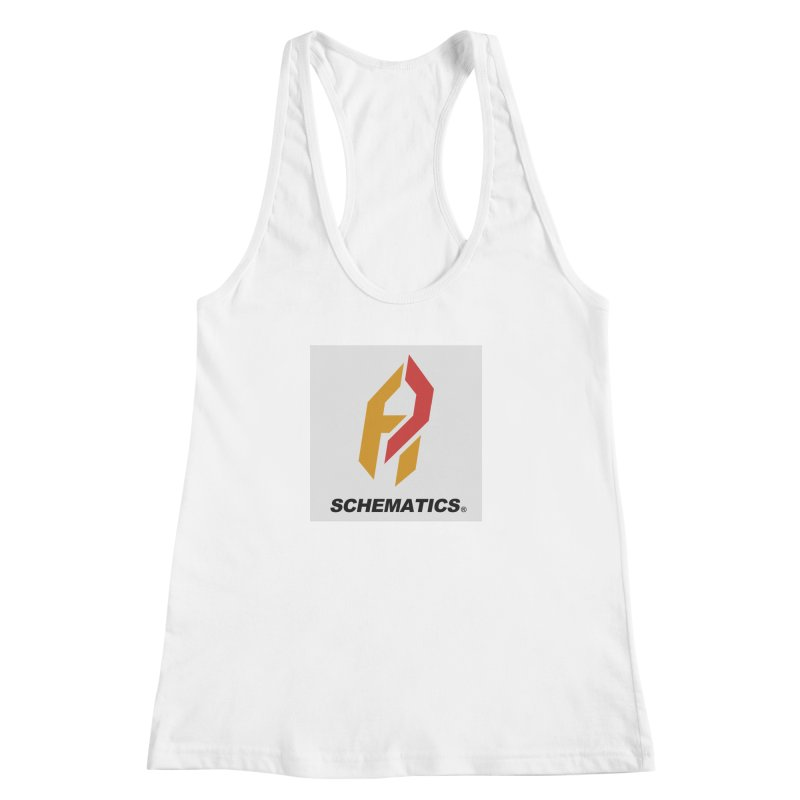 Schematicai Logo. Women's Racerback Tank by Shadeprint's Artist Shop