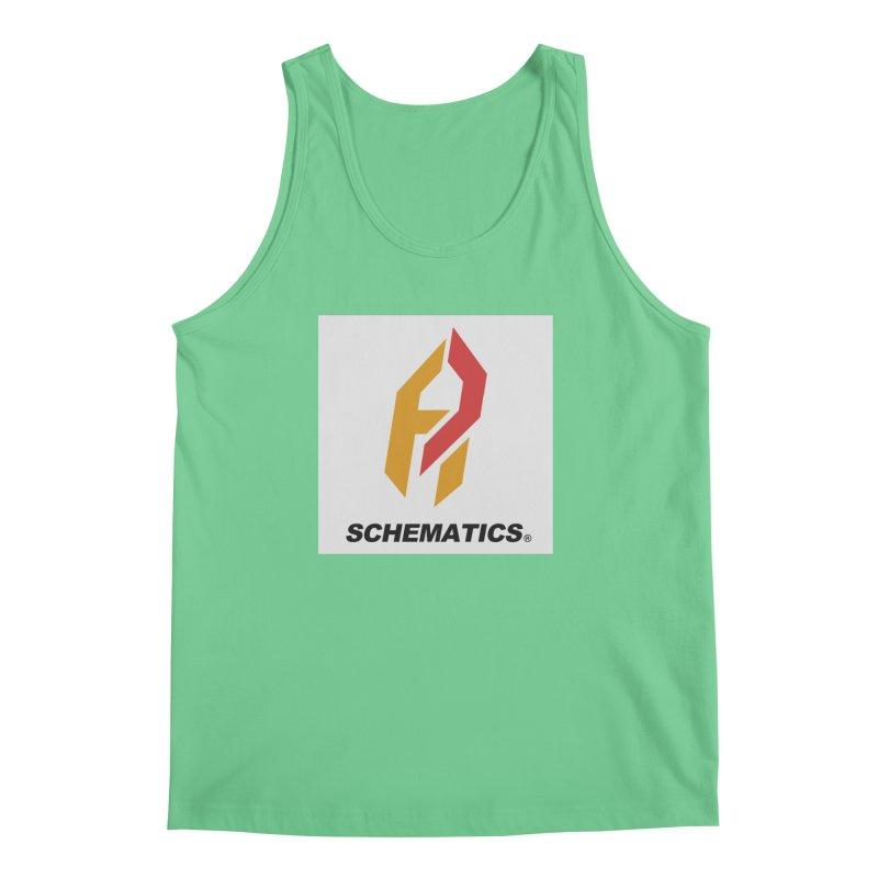 Schematicai Logo. Men's Regular Tank by Shadeprint's Artist Shop