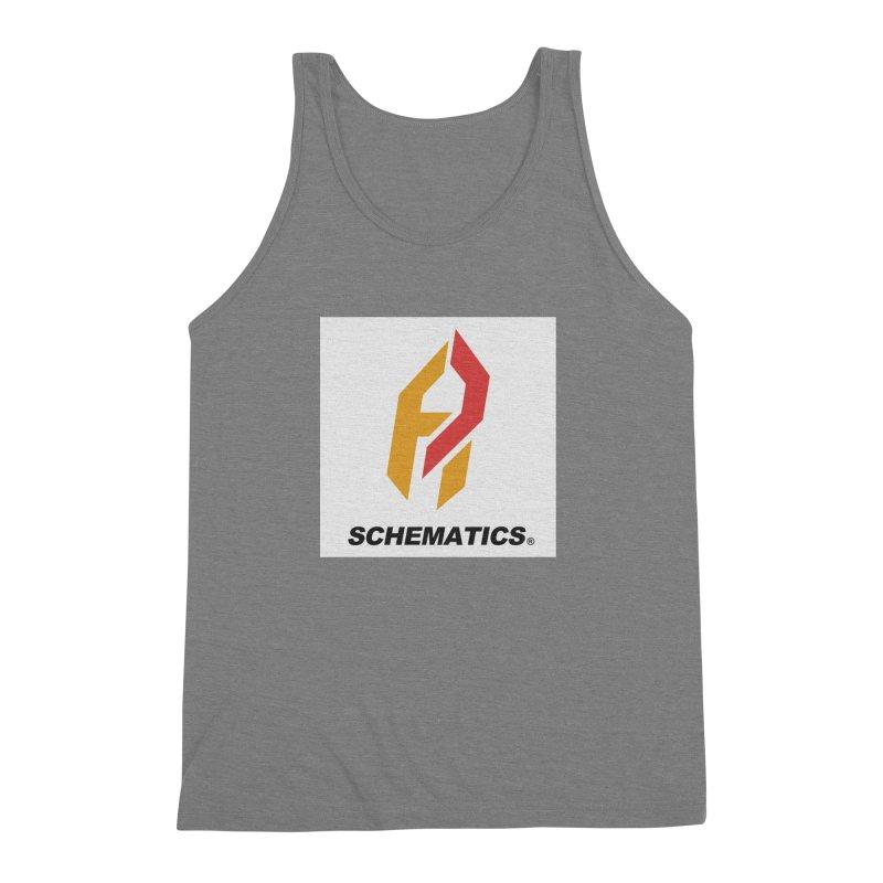 Schematicai Logo. Men's Triblend Tank by Shadeprint's Artist Shop