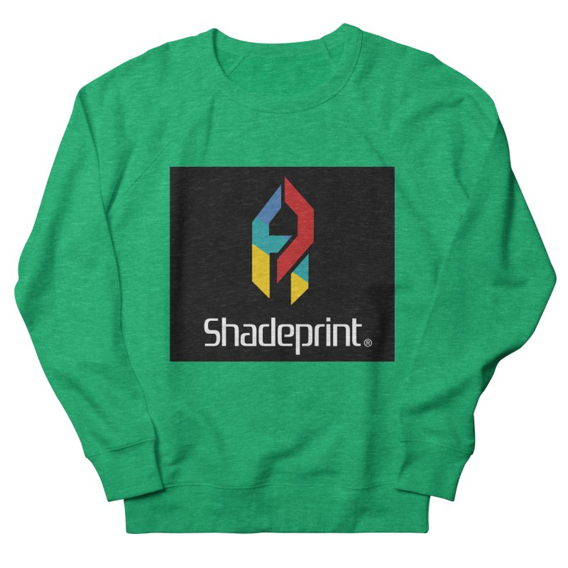 Play Shadeprint Logo Women's Sweatshirt by Shadeprint's Artist Shop