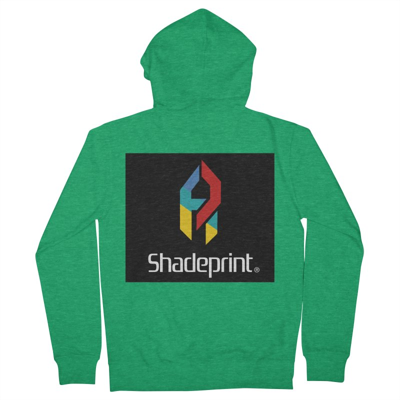 Play Shadeprint Logo Women's Zip-Up Hoody by Shadeprint's Artist Shop