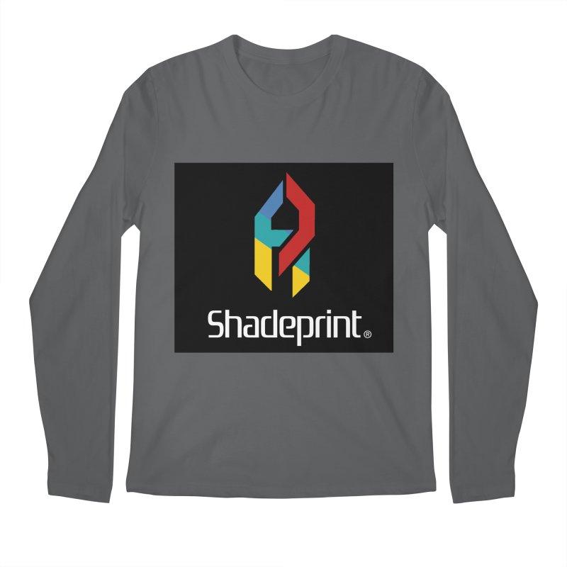 Play Shadeprint Logo Men's Longsleeve T-Shirt by Shadeprint's Artist Shop