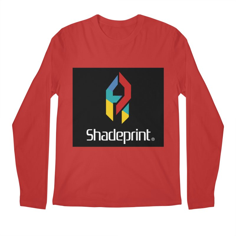 Play Shadeprint Logo Men's Longsleeve T-Shirt by Shadeprint's Artist Shop