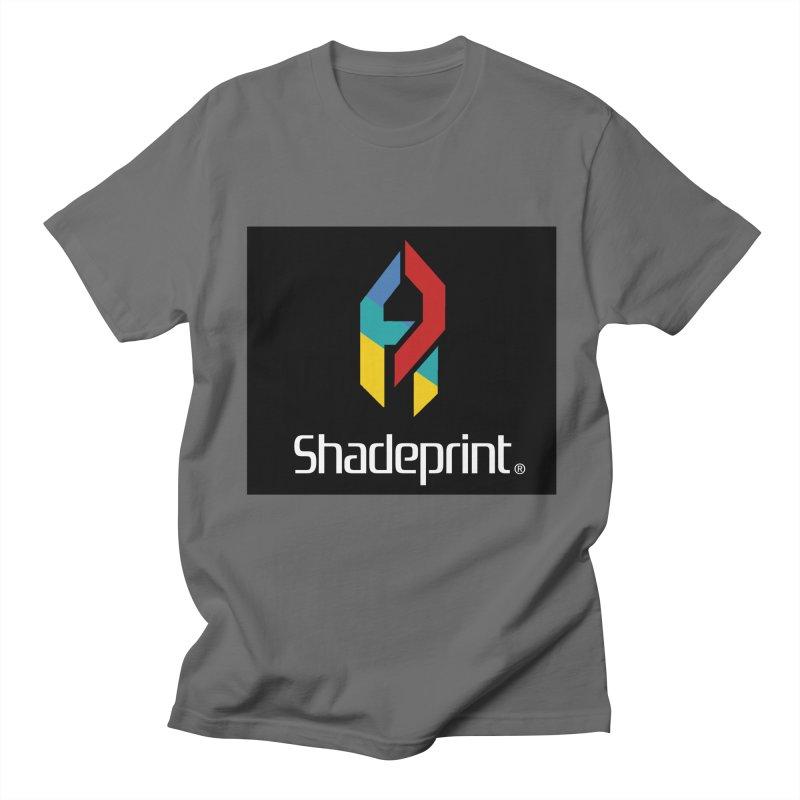 Play Shadeprint Logo Men's T-Shirt by Shadeprint's Artist Shop