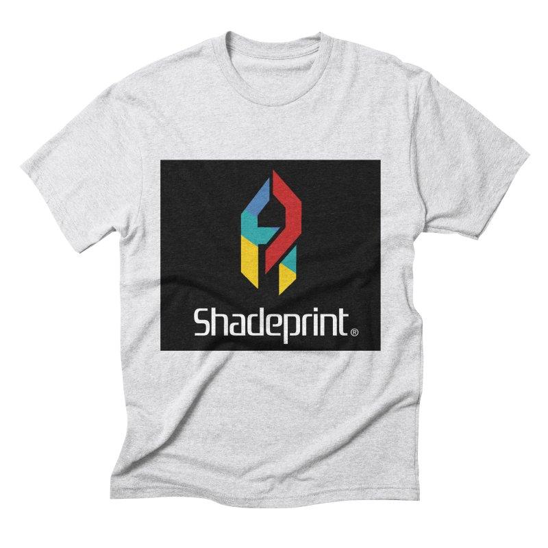 Play Shadeprint Logo Men's Triblend T-Shirt by Shadeprint's Artist Shop