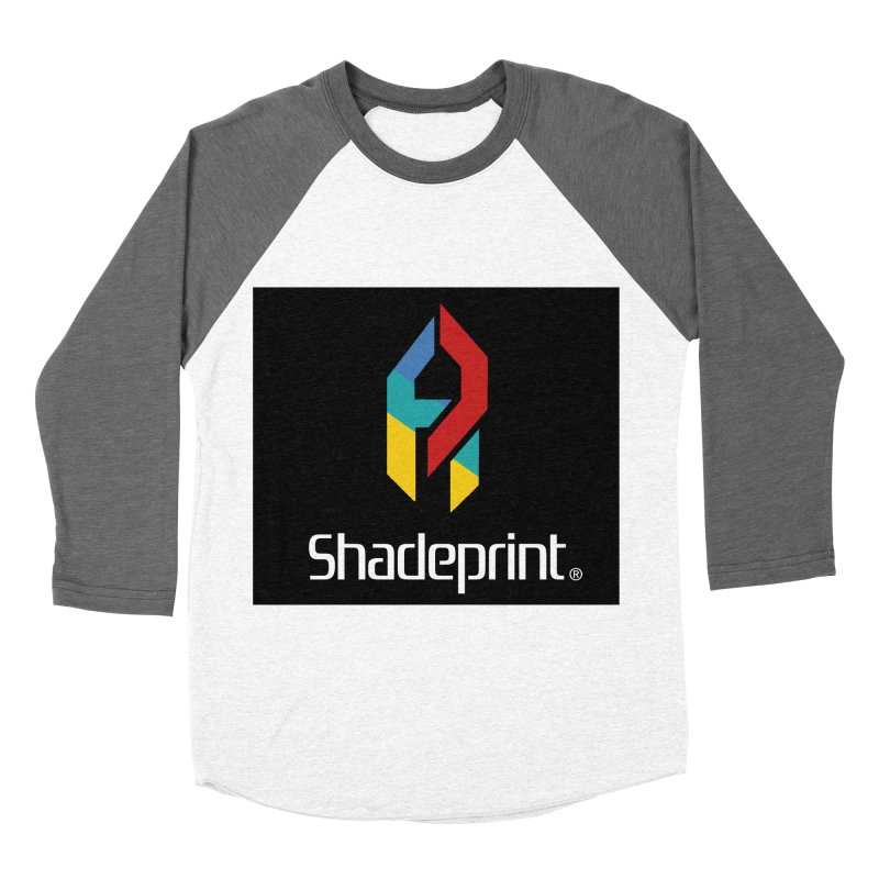 Play Shadeprint Logo Women's Baseball Triblend T-Shirt by Shadeprint's Artist Shop
