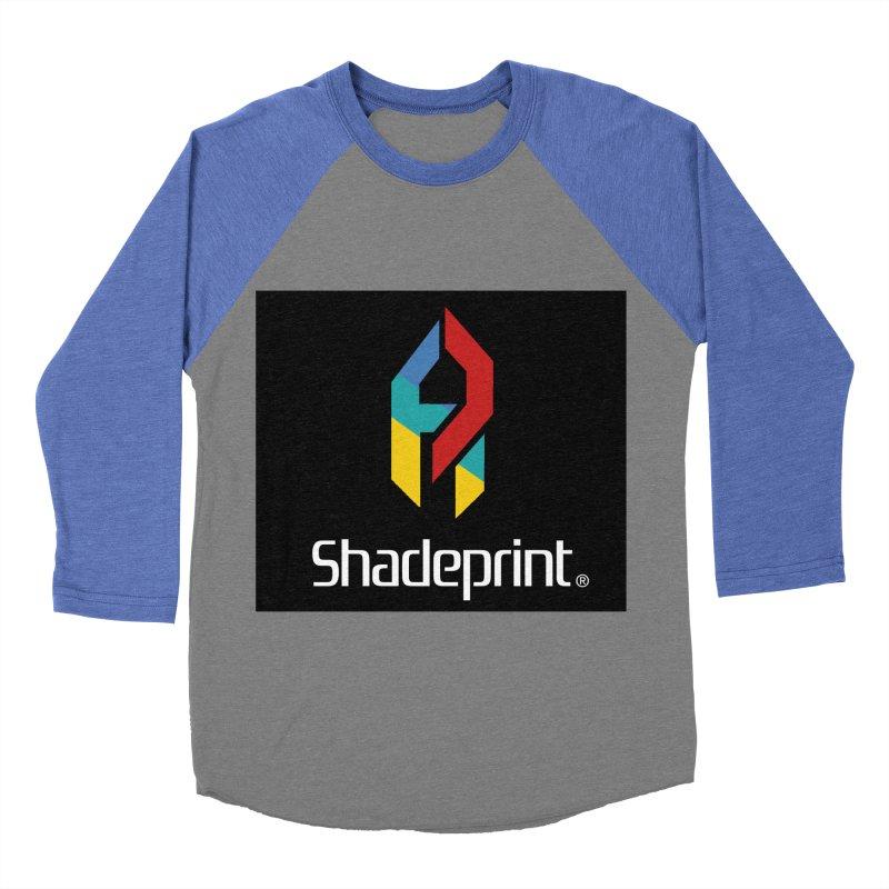 Play Shadeprint Logo Women's Baseball Triblend T-Shirt by Shadeprint's Artist Shop