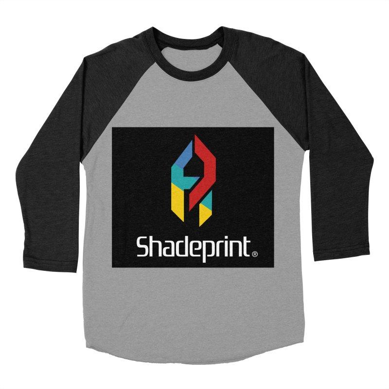 Play Shadeprint Logo Women's Baseball Triblend Longsleeve T-Shirt by Shadeprint's Artist Shop