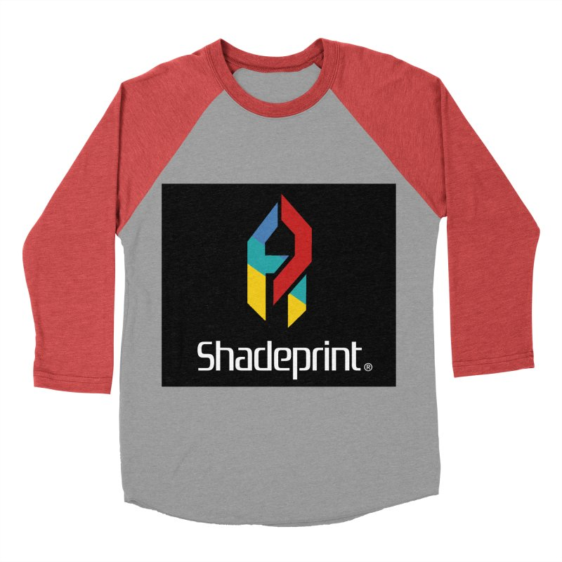 Play Shadeprint Logo Men's Baseball Triblend T-Shirt by Shadeprint's Artist Shop