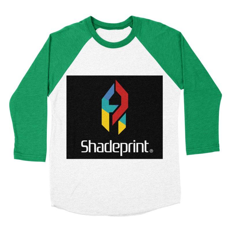 Play Shadeprint Logo Men's Baseball Triblend T-Shirt by Shadeprint's Artist Shop