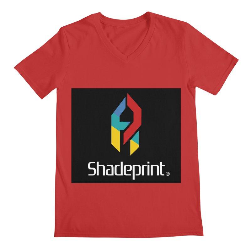 Play Shadeprint Logo Men's V-Neck by Shadeprint's Artist Shop