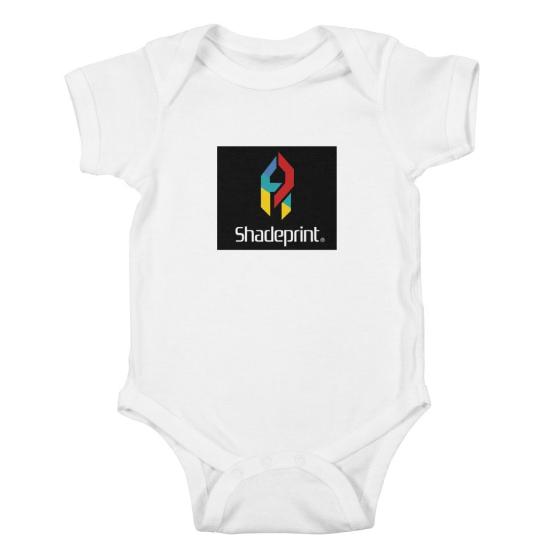 Play Shadeprint Logo Kids Baby Bodysuit by Shadeprint's Artist Shop