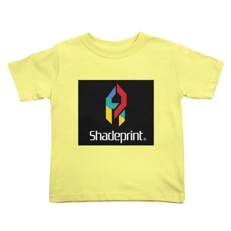 Play Shadeprint Logo Kids Toddler T-Shirt by Shadeprint's Artist Shop