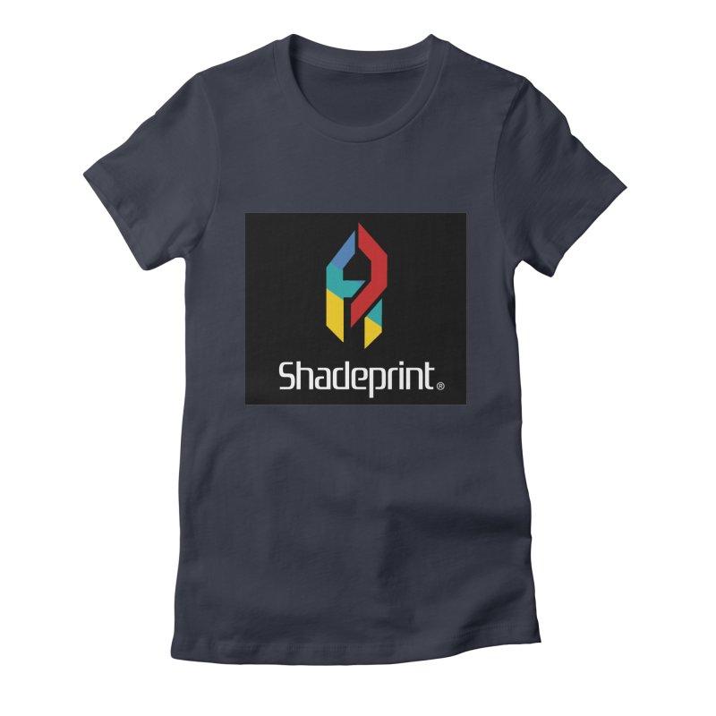 Play Shadeprint Logo Women's T-Shirt by SHADEPRINT.DESIGN