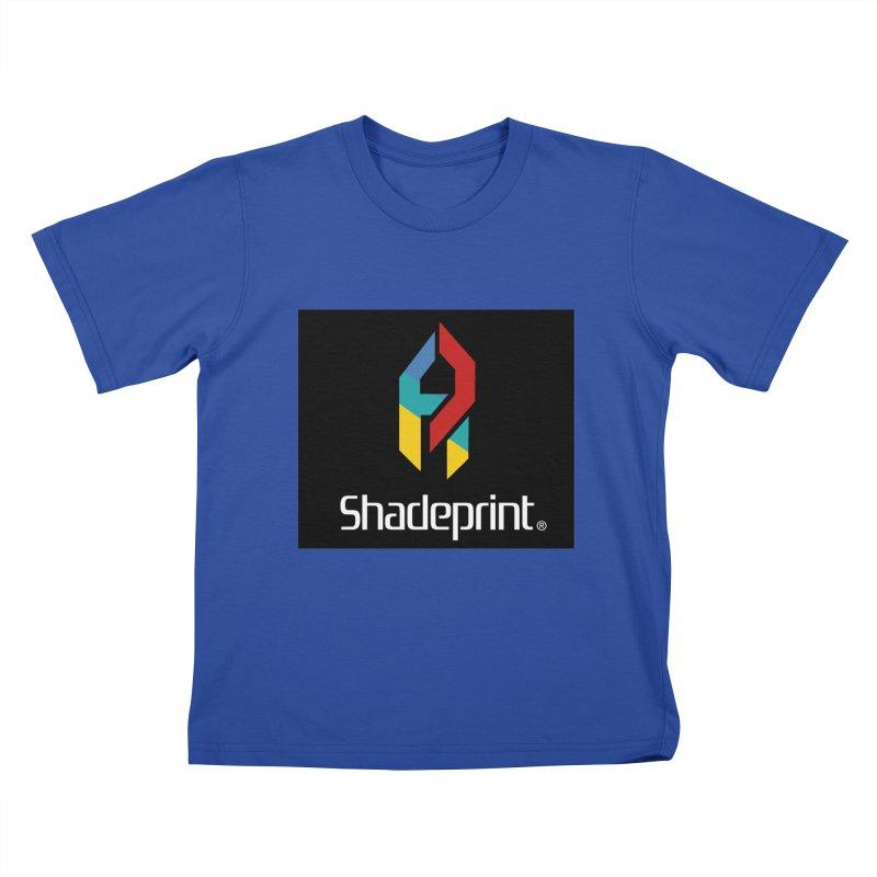 Play Shadeprint Logo Kids T-Shirt by Shadeprint's Artist Shop