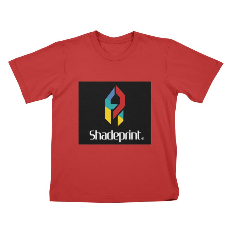 Play Shadeprint Logo Kids T-Shirt by Shadeprint's Artist Shop