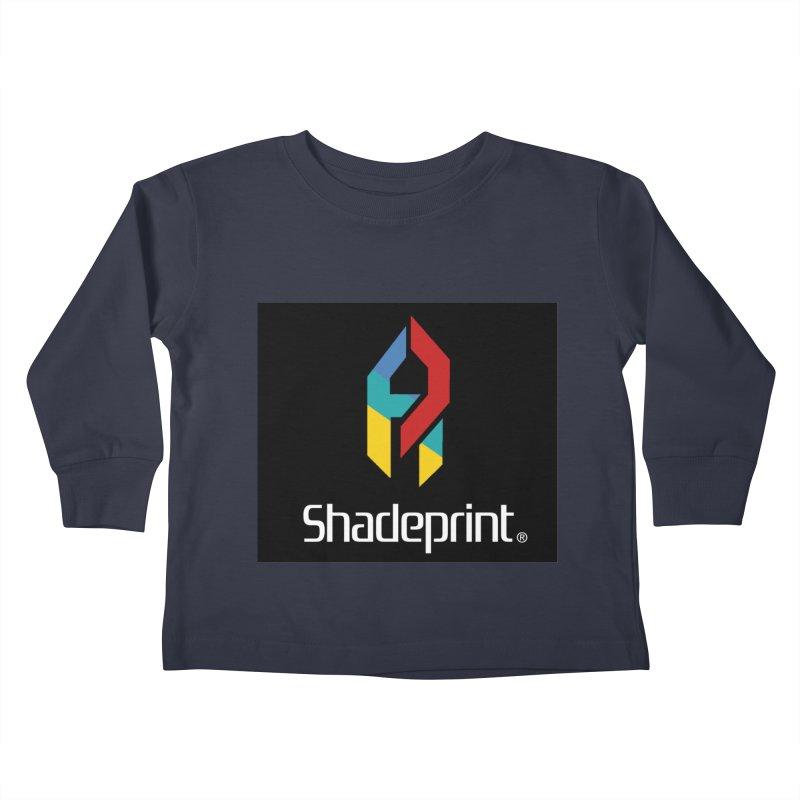 Play Shadeprint Logo Kids Toddler Longsleeve T-Shirt by Shadeprint's Artist Shop