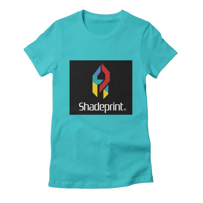Play Shadeprint Logo Women's T-Shirt by Shadeprint's Artist Shop