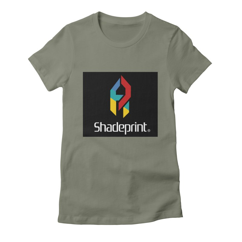 Play Shadeprint Logo Women's T-Shirt by Shadeprint's Artist Shop