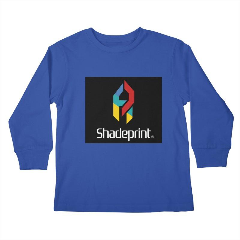 Play Shadeprint Logo Kids Longsleeve T-Shirt by Shadeprint's Artist Shop