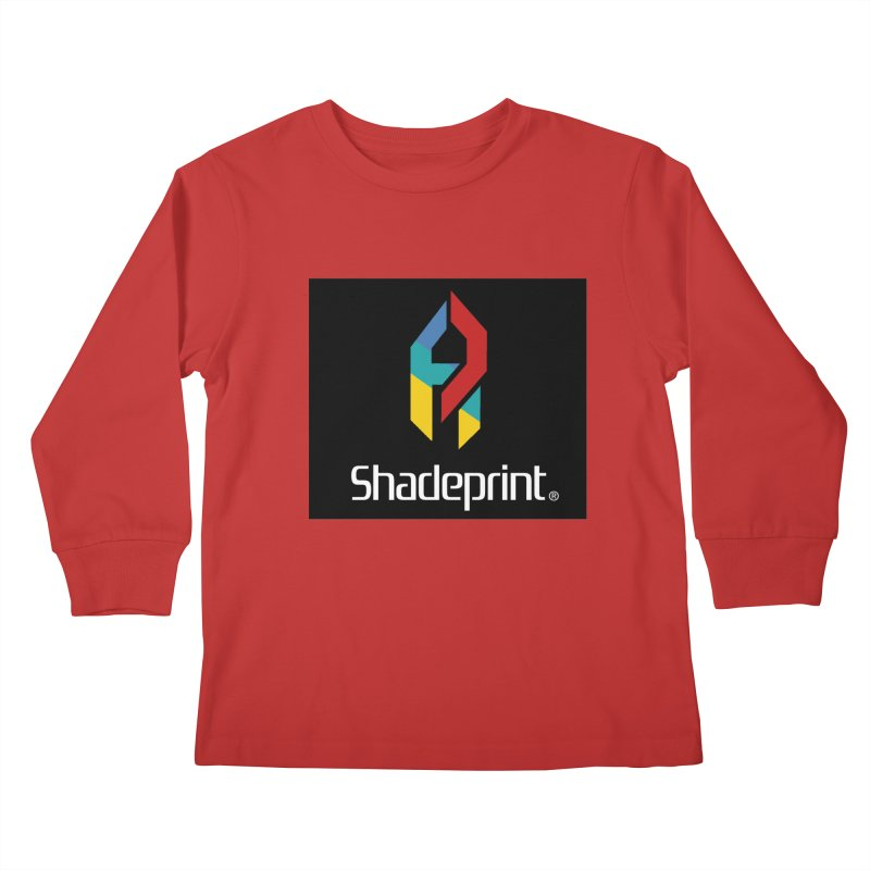 Play Shadeprint Logo Kids Longsleeve T-Shirt by Shadeprint's Artist Shop