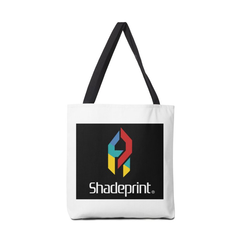 Play Shadeprint Logo Accessories Tote Bag Bag by Shadeprint's Artist Shop
