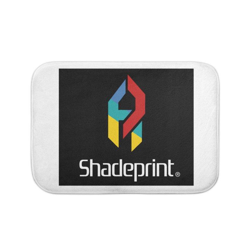Play Shadeprint Logo Home Bath Mat by Shadeprint's Artist Shop
