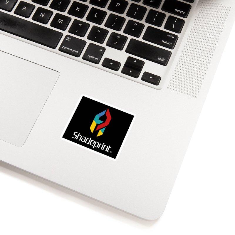 Play Shadeprint Logo Accessories Sticker by Shadeprint's Artist Shop