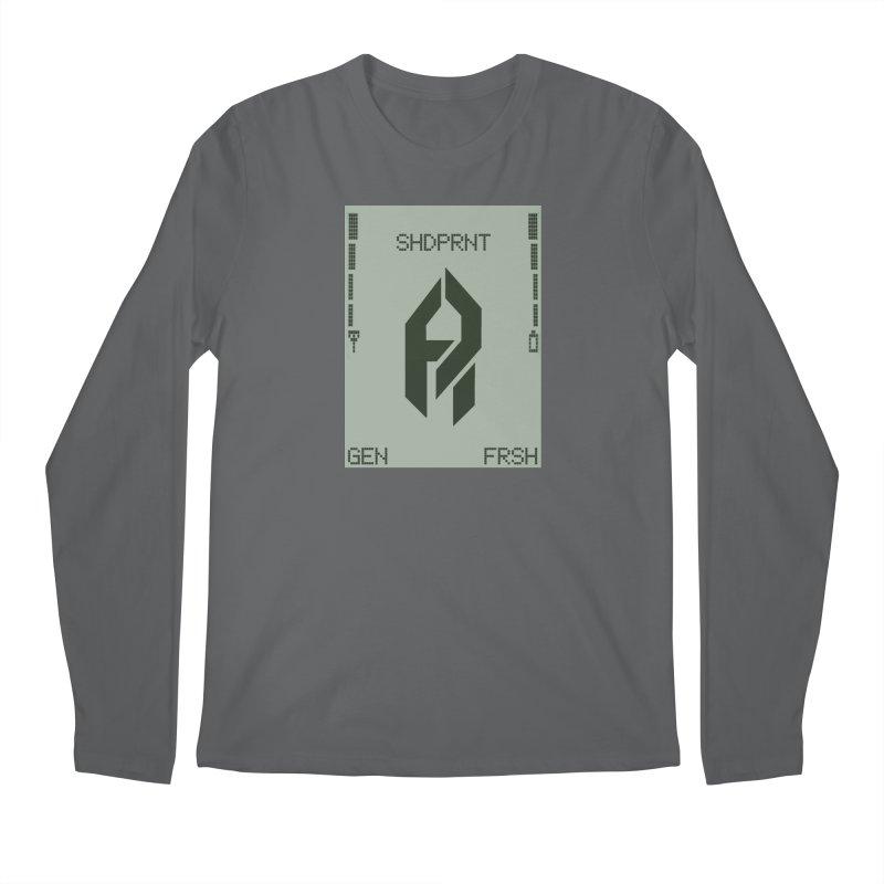 Shadeprint Cellular Men's Longsleeve T-Shirt by Shadeprint's Artist Shop