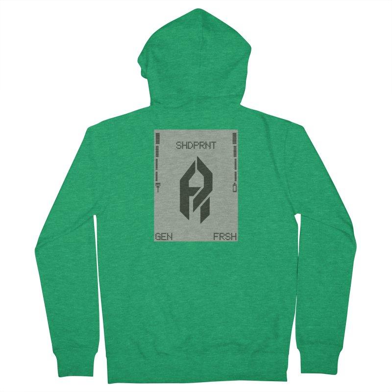 Shadeprint Cellular Men's Zip-Up Hoody by SHADEPRINT.DESIGN