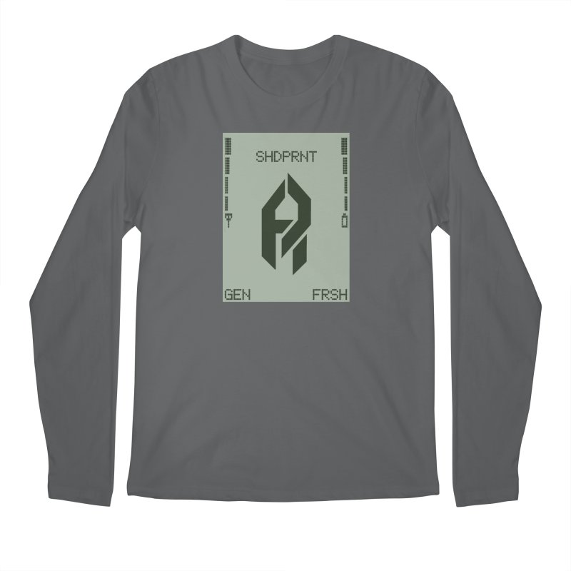 Shadeprint Cellular Men's Longsleeve T-Shirt by Shadeprint's Artist Shop