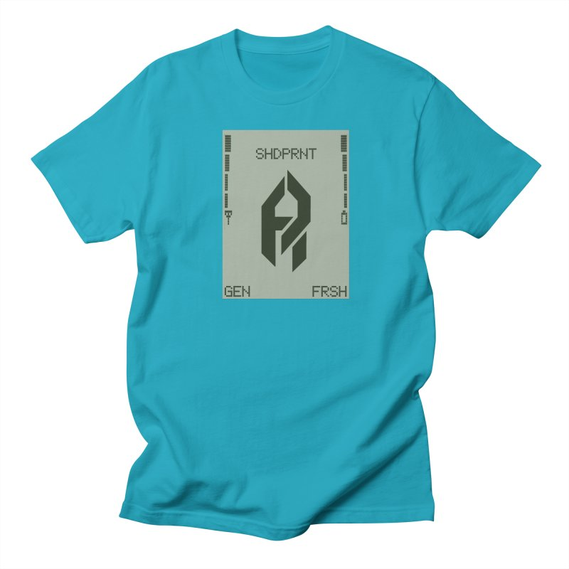 Shadeprint Cellular Men's T-Shirt by Shadeprint's Artist Shop
