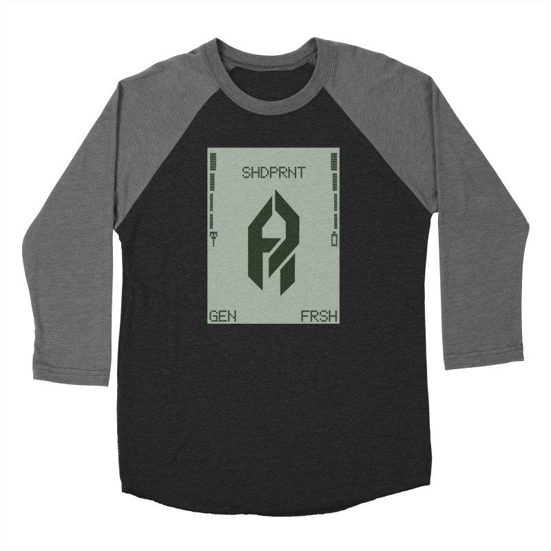 Shadeprint Cellular Women's Baseball Triblend Longsleeve T-Shirt by Shadeprint's Artist Shop