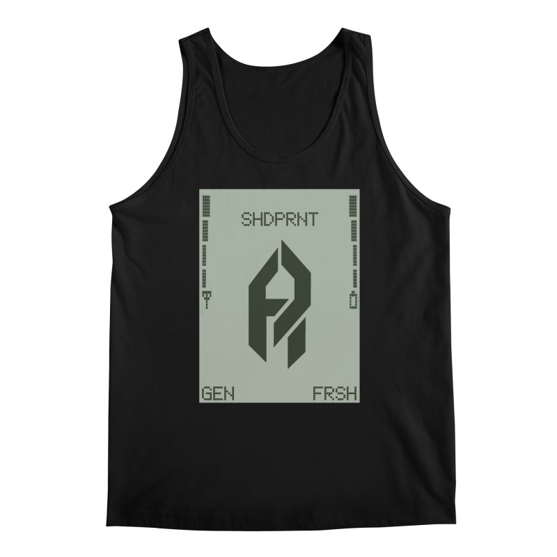 Shadeprint Cellular Men's Tank by Shadeprint's Artist Shop