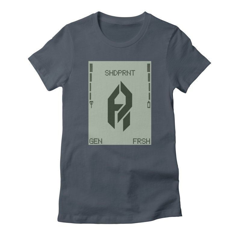 Shadeprint Cellular Women's T-Shirt by Shadeprint's Artist Shop