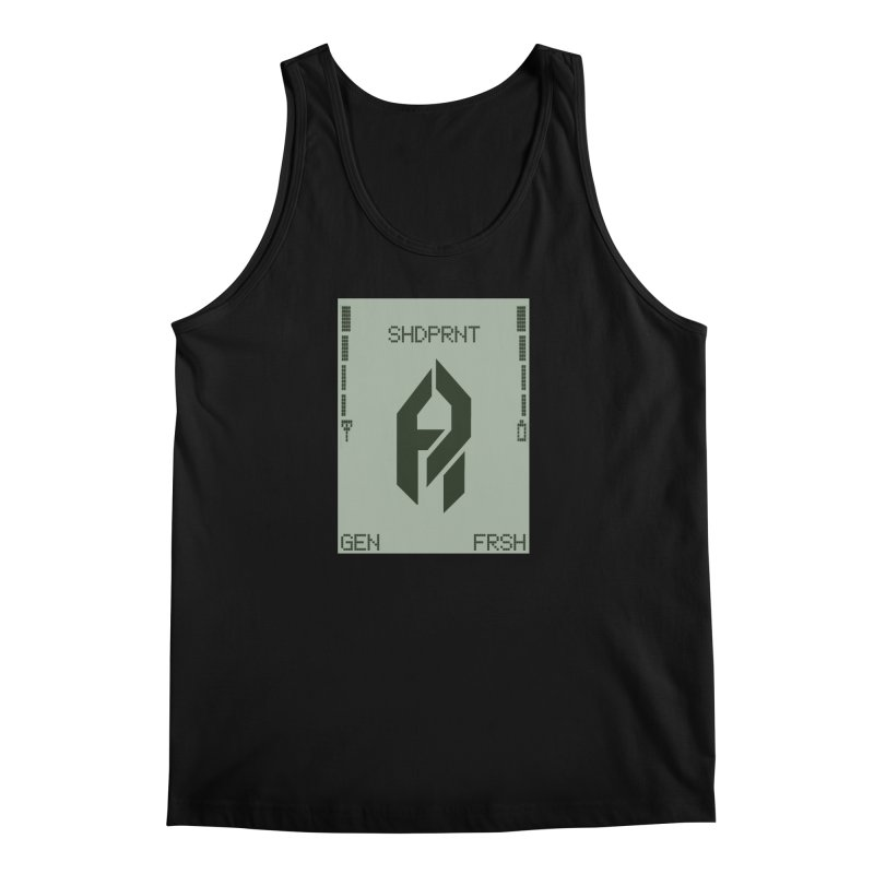 Shadeprint Cellular Men's Regular Tank by Shadeprint's Artist Shop