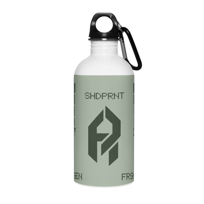 Shadeprint Cellular Accessories Water Bottle by Shadeprint's Artist Shop