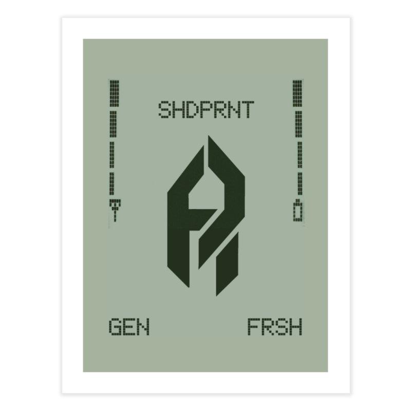 Shadeprint Cellular Home Fine Art Print by Shadeprint's Artist Shop
