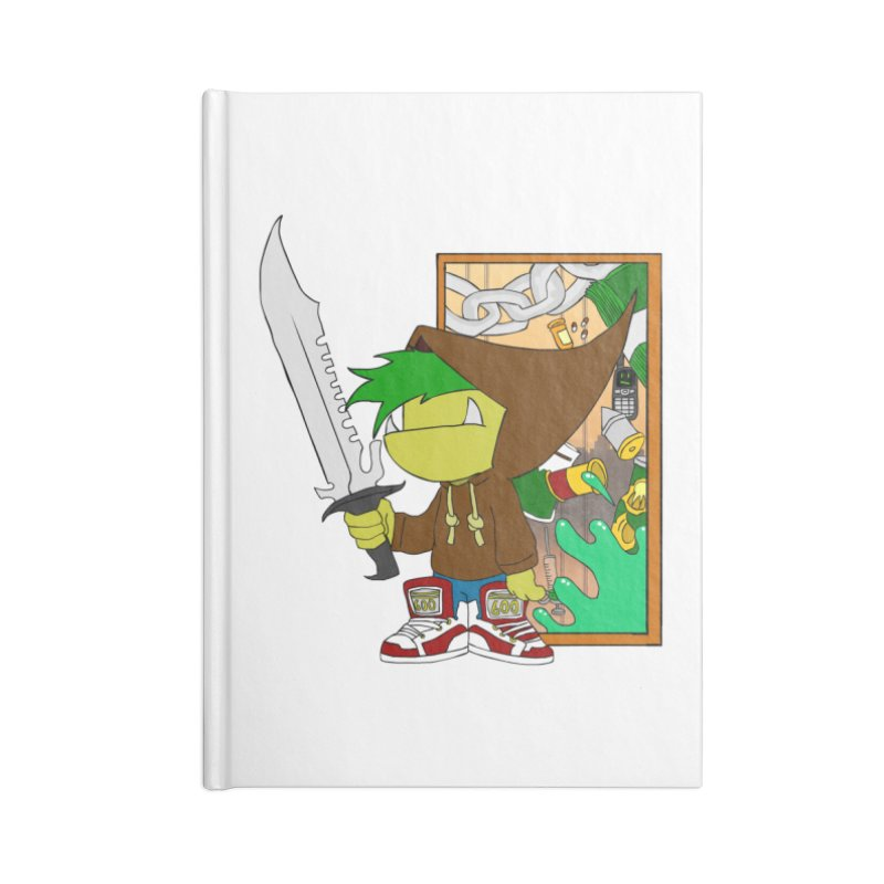 Hooded Thing Accessories Notebook by Shadeprint's Artist Shop