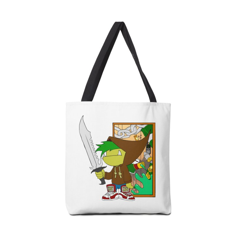 Hooded Thing Accessories Tote Bag Bag by Shadeprint's Artist Shop