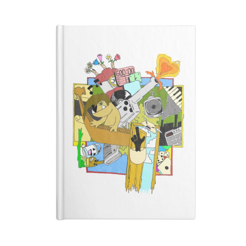Drippy Ole Shadeprint Accessories Blank Journal Notebook by Shadeprint's Artist Shop