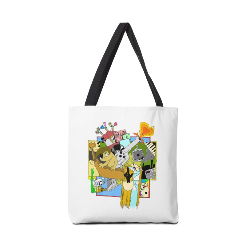 Drippy Ole Shadeprint Accessories Tote Bag Bag by Shadeprint's Artist Shop