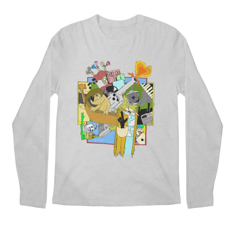 Drippy Ole Shadeprint Men's Regular Longsleeve T-Shirt by Shadeprint's Artist Shop