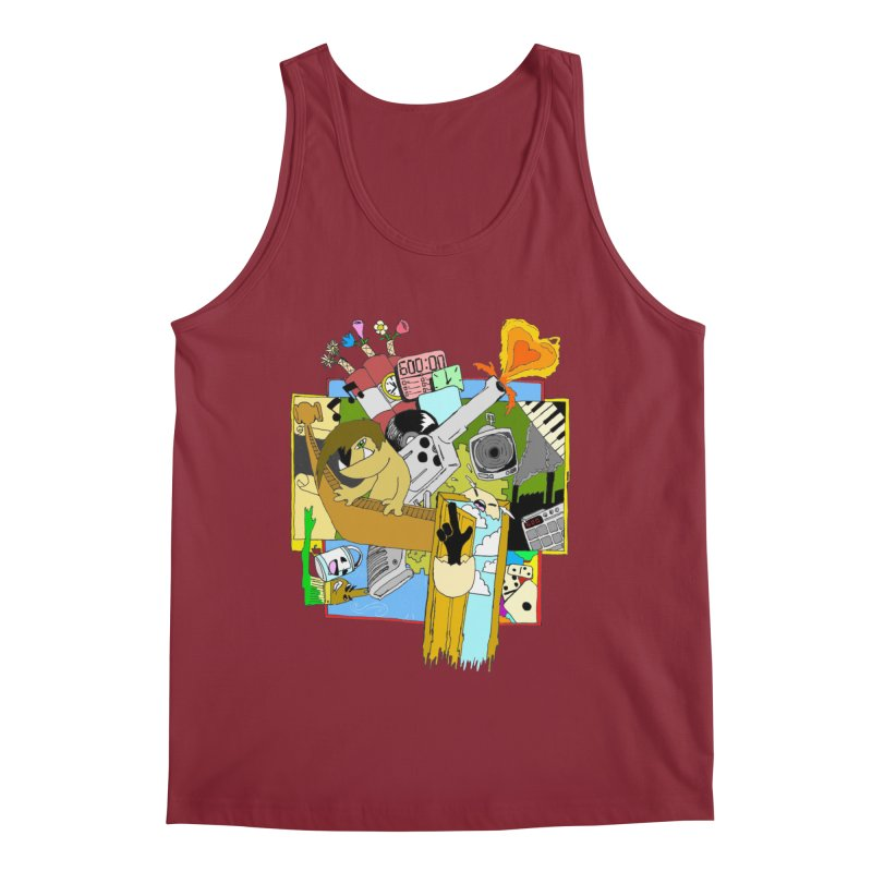 Drippy Ole Shadeprint Men's Tank by Shadeprint's Artist Shop