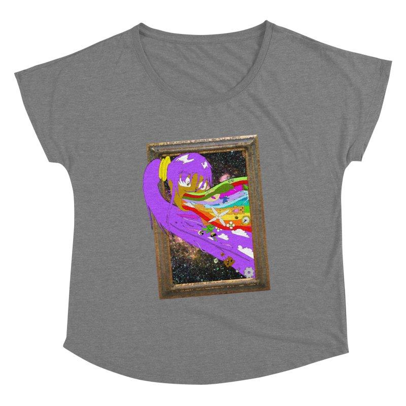 Cosmic Vomit! Women's Scoop Neck by Shadeprint's Artist Shop