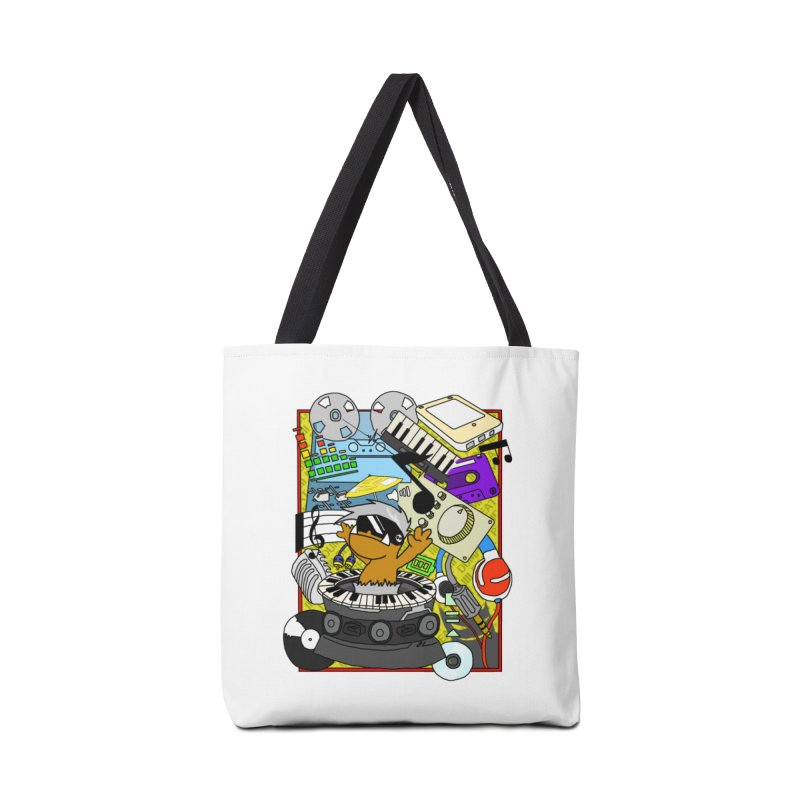 BEAT DUMPS. Accessories Tote Bag Bag by Shadeprint's Artist Shop