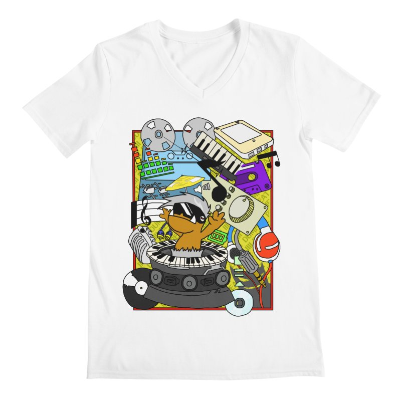 BEAT DUMPS. Men's V-Neck by Shadeprint's Artist Shop